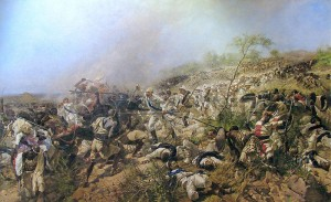 The Battle of Dogali by Cammarano