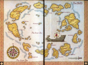 Map of the Isles