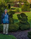 Dave at the Topiary Garden